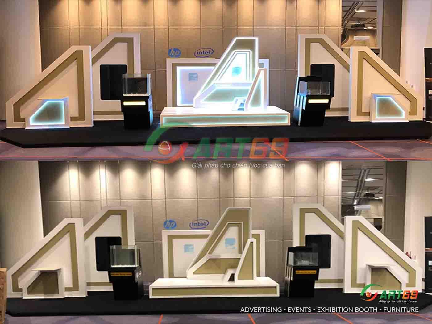 Thiết kế thi công Booth sự kiện