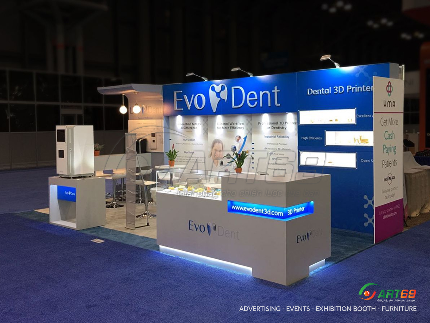 exhibition booth sample 3