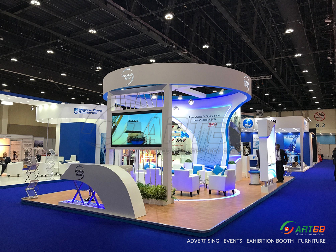 exhibition booth sample 4